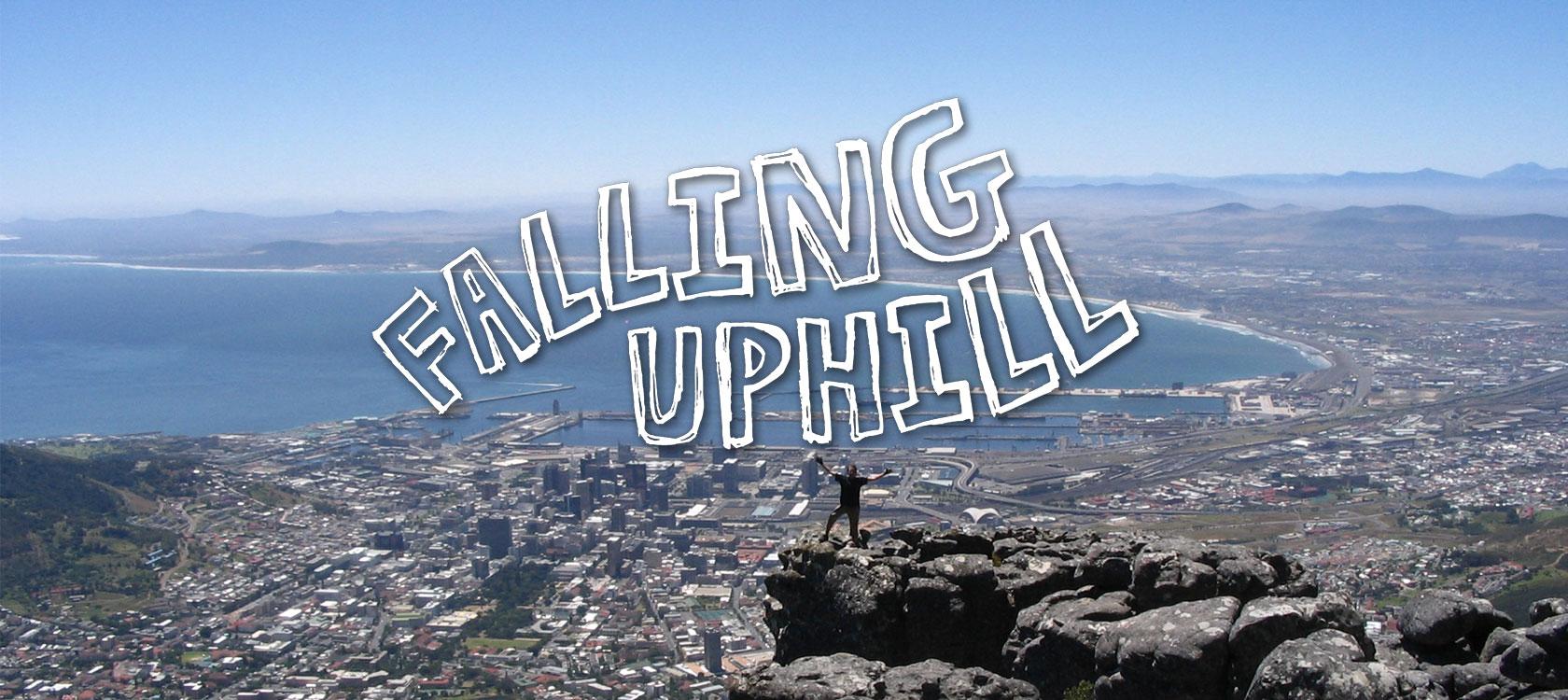 Falling Uphill masthead